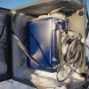 Datalogger with snow in weather box; D. Vaught photo